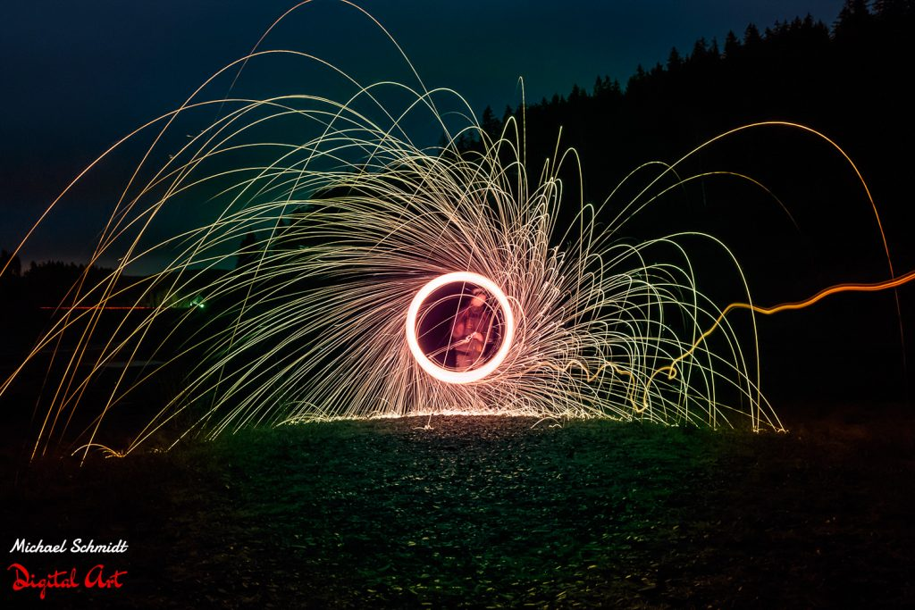 burning-steelwool